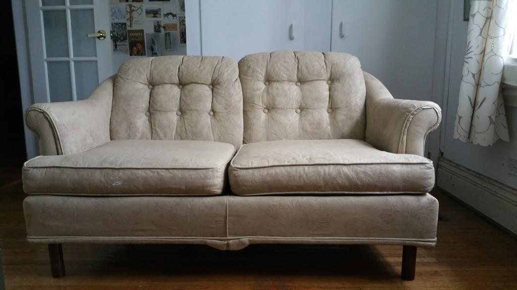 1980's era comfy sofa